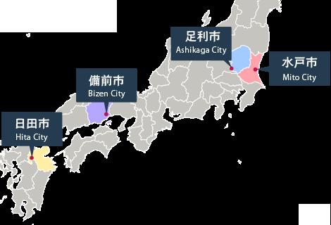 各市位置イメージ